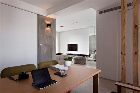 minimalist apartment in taiwan by fertility design 10