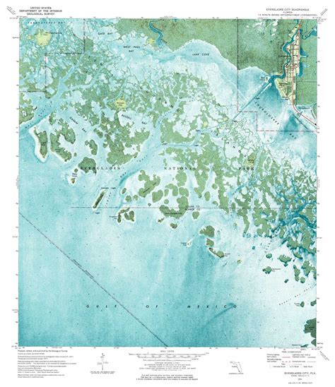 everglade city florida map everglades city topographic map fl usgs topo 25081g4