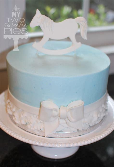 Rocking Baby Shower Cake by Rocking Cake Baby Shower Cakes