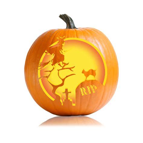 pumpkin patterns graveyard witch pumpkin carving stencil ultimate pumpkin