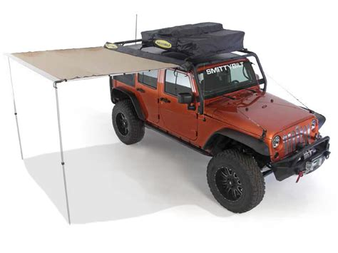 jeep wrangler awning apparel smittybilt sb 2784 smittybilt tent awning and other jeep wrangler parts