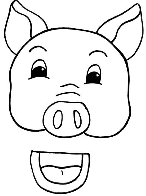 pig puppet template susan lothe pig paper bag puppet template ece dramatic