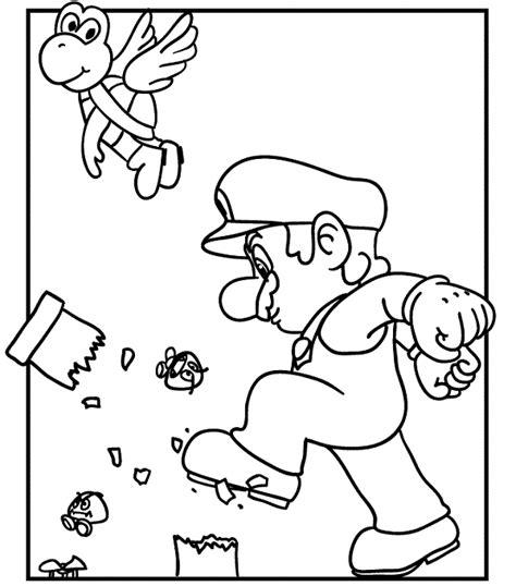 mario bros coloring pages games demolition mario coloring pages mario bros games mario