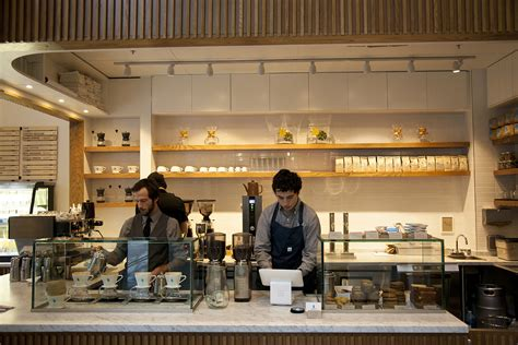 At Blue Bottle's Brand New Twitter Adjacent San Francisco Coffee Bar