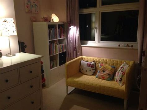 Futon Erfahrung by Updated Room With Ikea Knopparp Yellow Sofa And New