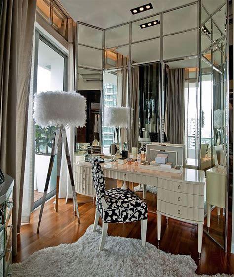 fun  fancy dressing room interior