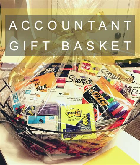 Office Supplies Gift Basket 21 Cpa Gift Ideas For The Accountant In Your All