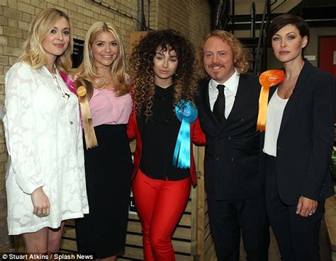 celebrity juice guests tomorrow uk election joey essex joins holly willoughby on