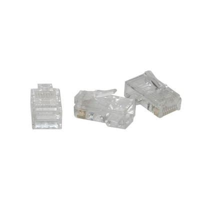 Modular Cat 5 By Masscom rj45 cat5 8x8 modular for flat stranded cable