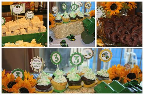 Yellow Kitchen Theme Ideas by John Deere Tractor Birthday Party Food Games Favors Amp More