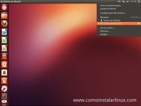 escritorio ubuntu como instalar ubuntu 12 10