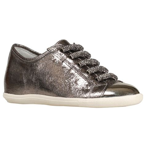 Genuine Leather Slip On Sneakers new womens genuine leather cubic metal toe cap low top