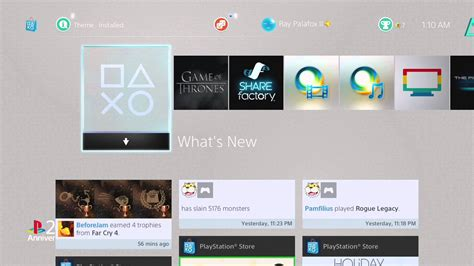 ps4 themes with sound playstation ps1 theme on ps4 new startup sound youtube