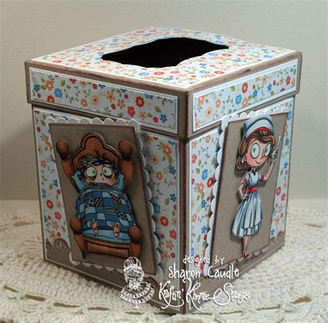 tissue box card holder 296 best kraftin kimmie cards images on