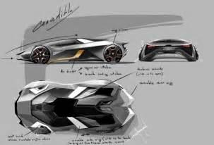 Lamborghini Sketch Design Lamborghini Diamante Concept Car Design