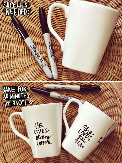 design your own mug with permanent marker cde blog