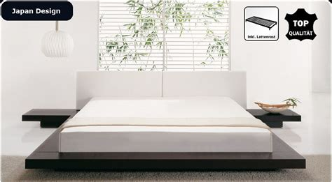 futonbett design japanisches design holz bett japan style japanischer stil