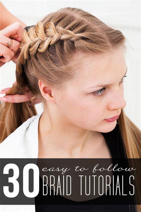 braided hairstyles tutorials dailymotion 30 braid tutorials trenzas de corona alfombras rojas y