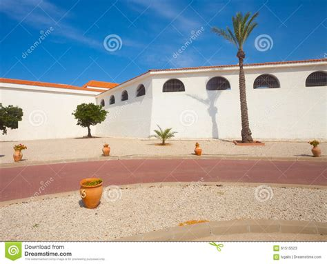 backyard middle east middle east building with vast yard stock photo image
