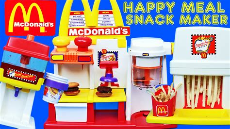 Happymeal Mac Donalds Karakter 3 mega mcdonalds happy meal magic hamburgers fries