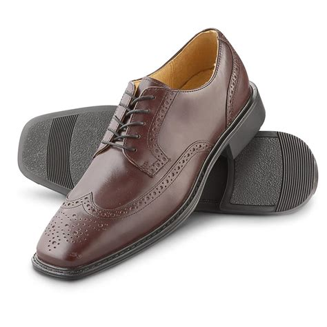 s rockport 174 farren wingtips oxblood 157334 dress