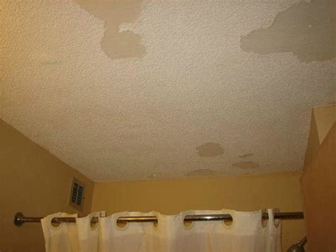 popcorn ceiling peeling in bathroom air conditioner dirty picture of super 8 myrtle beach