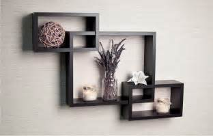 Wooden Bookshelf Designs India by Wall Decor With Shelves