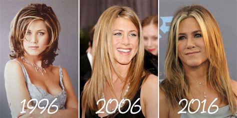 times jennifer aniston changed  hair jennifer