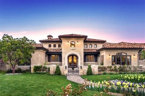 tuscany style house mediterranean tuscan home house exterior mediterranean