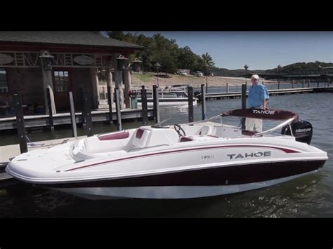tahoe boat reviews tahoe boats 2017 1950 full review by boattest youtube