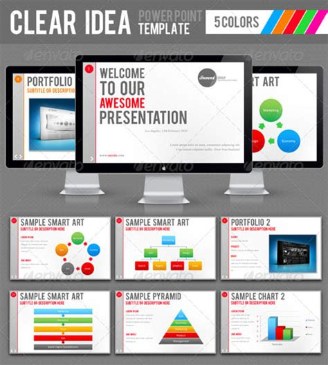 30 powerpoint templates design pinterest