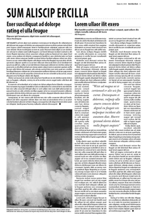 newspaper layout exercises corporate training in indesign flash dreamweaver8
