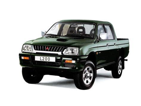 how can i learn about cars 1996 mitsubishi chariot free book repair manuals mitsubishi l200 1996 1997 1998 1999 2000 пикап 3 поколение технические характеристики и