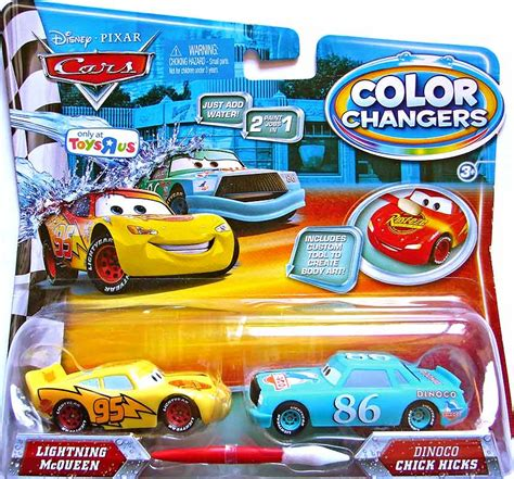 color changer lightning mcqueen color changer dinoco hicks