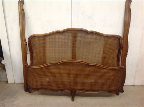 french cane bed french cane bed 327670 sellingantiques co uk
