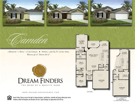 design center dream finders dream finders homes floor plans