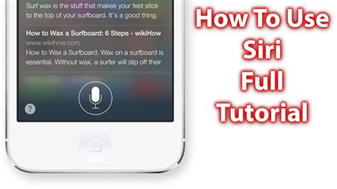 siri  ios  ios  iphone sc ipad  ipod touch siri tutorial youtube