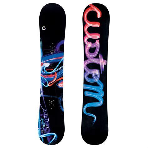Handmade Snowboard - burton custom wide snowboard 2009 evo outlet