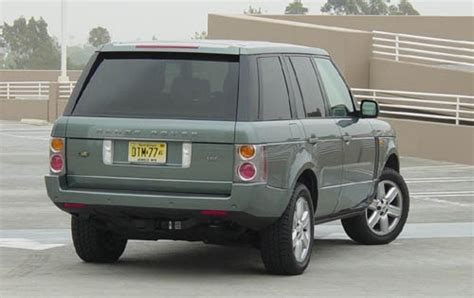 land rover range rover 2003 2003 land rover range rover information and photos