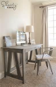 Diy Wood Desk Plans Free Woodworking Plans Diy Desk