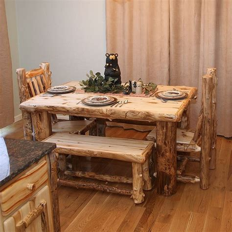 log cabin table ls 294 best things made w tree logs images on pinterest