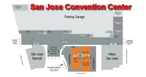 san jose convention center floor plan aic newsletter volume 8 number 1