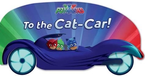 cat speed pj masks books to the cat car book by pendergrass official