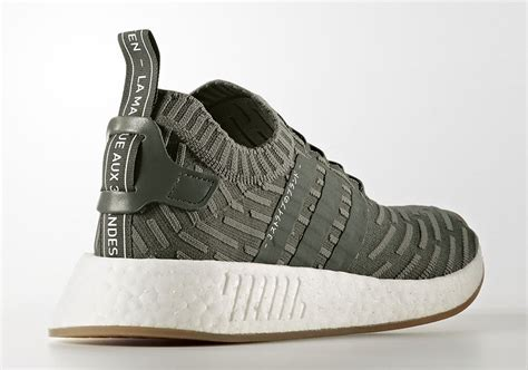 Adidas Nmd R2 Pk Olive Black adidas nmd r2 primeknit japan pack olive white