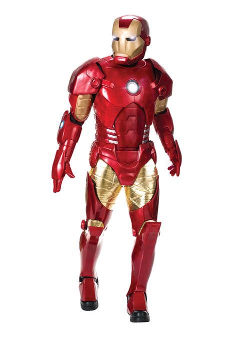 authentic mens iron man costume