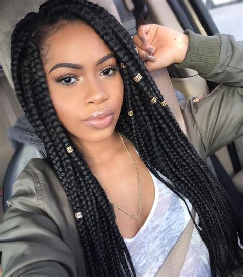 55  Trendy The different box braids artificial hairstyles 2017
