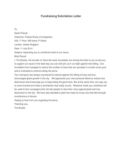 sle charity letter for donations charity solicitation letter sle 28 images sle
