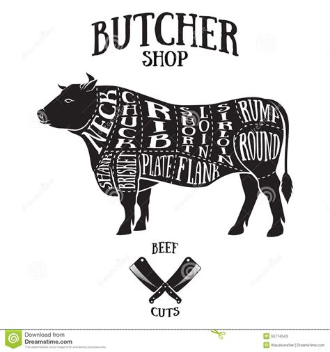 beef butcher diagram cow butcher cut search diy arts crafts for