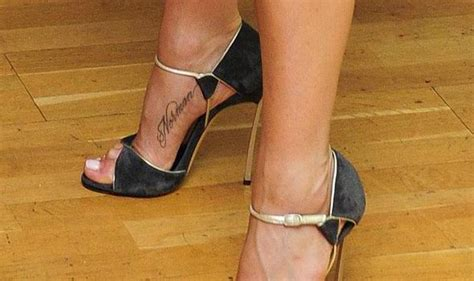 jennifer aniston tattoo what s tatt on aniston s ankle adam helliker