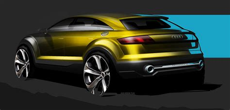audi tt crossover concept headed to beijing photos 1 of 3